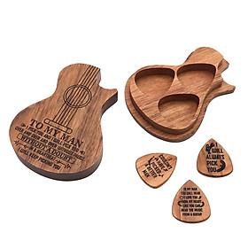 Guitar Gỗ Phím 3, Đàn Guitar Plectrums Cho Điện, Acoustic hoặc Guitar Bass & Đàn Guitar Chọn Giá Đỡ