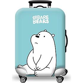 Túi bọc bảo vệ vali ZOOYOO Gấu Trắng