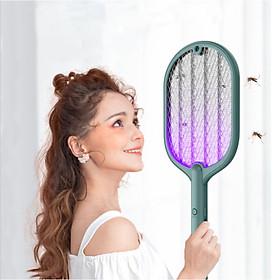 Vợt Bắt Muỗi Kiêm Đèn Thu Hút Muỗi , Diệt Muỗi - Cấp Độ Bảo Vệ IP20 - PIN Sử Dụng Lâu Dài - 2 Màu Lựa Chọn - Energy Green Lighting - Có Video