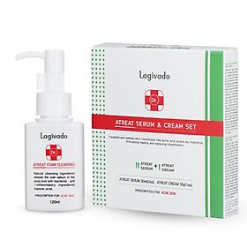 Bộ sản phẩm Dưỡng da, giúp làm sáng da, mang lại làn da mịn màng Lagivado Dr. ATreat Serum & Cream Set