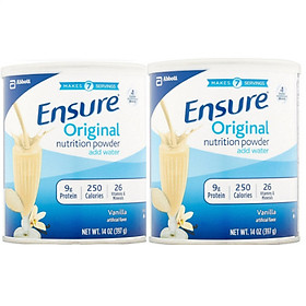 Combo 02 hộp sữa bột Ensure Original Nutrition Powder (397g)
