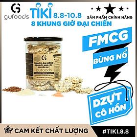 Snack ăn kiêng gạo lứt ngũ cốc nguyên hạt GUfoods - Thanh đạm, Tiện lợi, Phù hợp Eat clean