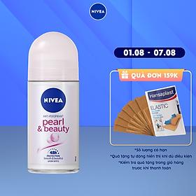 Lăn Ngăn Mùi NIVEA Pearl & Beauty Ngọc Trai Quyến Rũ (50ml) - 83735