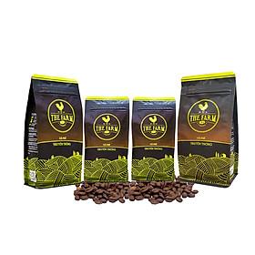 Biểu đồ lịch sử biến động giá bán Combo 4 gói cà phê bột nguyên chất truyền thống - The Farm Coffee (250g)