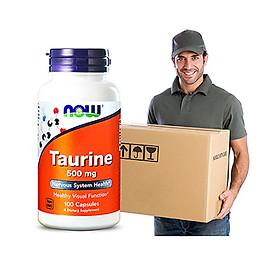 Taurine 500mg NOW( 100 viên/ lọ)