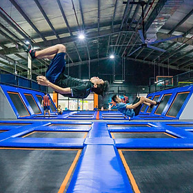 Vé 60 Phút Vào Khu Vui Chơi Bạt Nhún Jump Arena (HCM/HN)