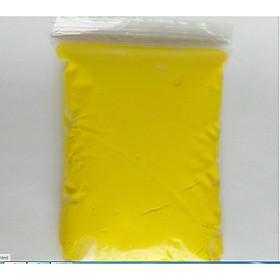 Đất nặn Nhật nhẹ 100gr màu vàng làm handmade