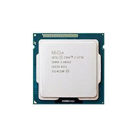 Bộ xử lý CPU Intel Core i7-3770 Tray, Hàng nhập khẩu, Tương thích mainboard H61, B75, Z68