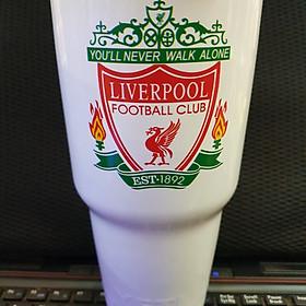 Ly giữ nhiệt in logo bóng đá