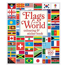 Usborne Flags of the World colouring & sticker book