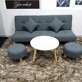 Ghế sofa giường Linco sofa bed phòng khách SB18- vải bố