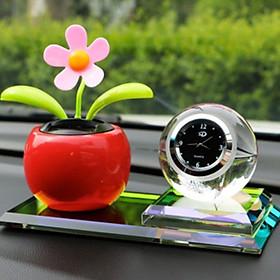 Nước hoa đồng hồ trang trí nội thất ô tô