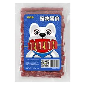 Snack bò que Taotao ăn vặt cho chó mèo gói 450g