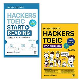 Combo Đọc Hiểu TOEIC: Hackers TOEIC Start Reading + Hackers TOEIC Vocabulary