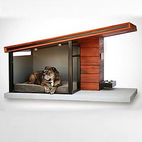 Nhà Gỗ Độc Đáo Cho Chó Mèo DH006