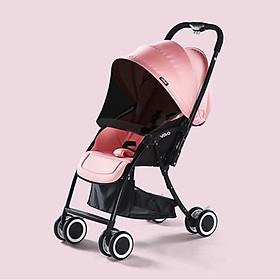 Xe đẩy em bé 2 chiều, trọng lượng xe 5.4 kg, cho bé từ  0-3 tuổi, gấp gọn dễ dàng bằng 1 tay