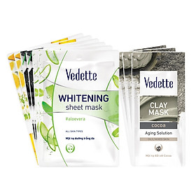 Bộ sưu tập trải nghiệm dưỡng da Vedette dành cho da dầu