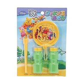 Thổi bong bóng xà phòng Pooh an toàn cho bé  - Hàng Nội Địa Nhật