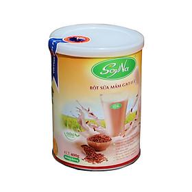 Gạo lứt - Combo 02 sữa mầm gạo lứt SoyNa 400GR không đường  - BSMGL01- Sản phẩm thực dưỡng, Hỗ trợ giảm cân, chống béo phì, tăng cường hệ miễn dịch, dùng cho người tiểu đường, người ăn kiêng