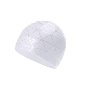 Xiaomi Soft Silicone Swimming Cap Waterproof Sports Swim Pool Hat Ears Protection For Adult Men Women - White