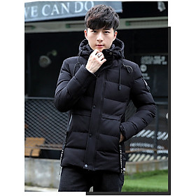 Áo nam AP36 - áo khoác nam - Áo khoác phao nam lót lông áo  có mũ cao cấp phong cách HQ Hotrend