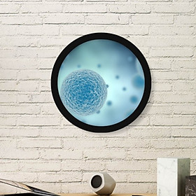 Modern Round Free Combination Frame Wall Hanging No-trace Photo Frame Home Art Decoration