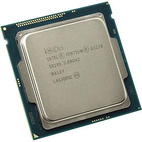 Bộ vi xử lý Intel Pentium G3220 Tray - Tương thích Mainboard H8, B85, Socket 1150 - HÀNG NHẬP KHẨU