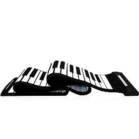 Đàn Piano Điện Tử Phím Cuộn Silicon Chuyên Nghiệp Đầu USB MIDI (88 Phím)