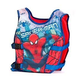 Phao bơi trẻ em, áo phao bơi SPIDERMAN (Bé từ 2 - 10 tuổi), chất liệu tiêu chuẩn EU - POKI