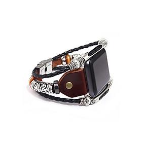 Dây Đeo Iwatch - Dây Da Đồng Hồ dành cho đồng hồ Apple Watch 38mm/40mm & 42mm/44mm SAM Leather SAMDD01