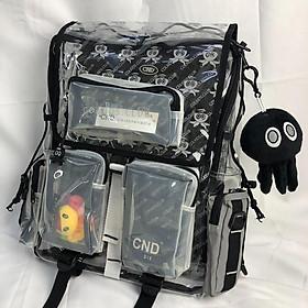Balo CND Colkids Club SS5 nhựa Trong Suốt kèm Bạch tuột và Full Tag + giấy thơm