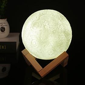 Đèn LED Hình Mặt Trăng 3D Trang Trí (400lm)