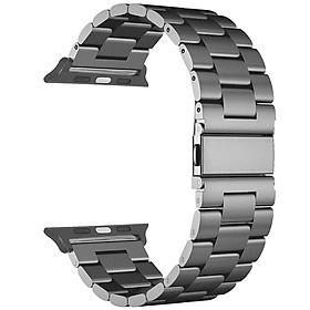 Dây Đeo Đồng Hồ Thép Không Gỉ Cho Apple Watch 4 (40/44mm)