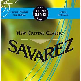 Bộ dây đàn Classical Guitar SAVAREZ NEW CRISTAL HT CLASSIC 540CJ