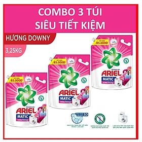 COMBO 3 túi nước giặt Ariel Đam mê 3.25kg