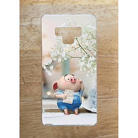 Ốp Lưng Dùng Cho Samsung Note 9 (Dẻo) - Heo Đọc Sach