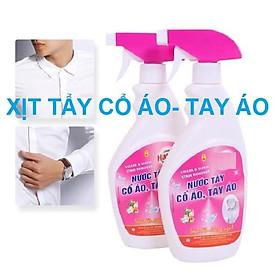 Nuớc xịt tẩy vết bẩn khó giặt trên cổ áo, tay áo Hando 500ml