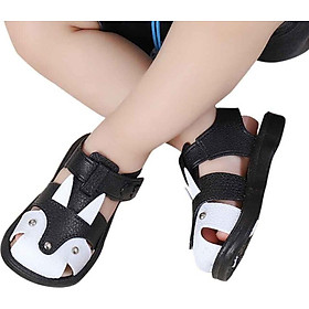 New Summer Baby Boy Girl Casual Fashion Cartoon Sandals Kids Breathable Anti-Slip Soft Soled Shoes