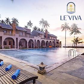 Le Viva Resort 4* Mũi Né - Buffet Sáng, Hồ Bơi, Bãi Biển Riêng, Ngay Trung Tâm Huỳnh Thúc Kháng, Thuận Tiện Tham Quan