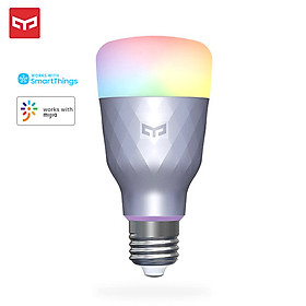 Yeelight Smart WiFi Light Bulb LED RGB Color Changing Compatible with Alexa Google Home Assistant Samsung SmartThing No