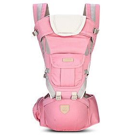 Bethbear 3 in 1 Hipseat Ergonomic Baby Carrier 0 - 36 Months Wrap Infant Sling Backpack