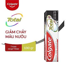 Kem đánh răng Colgate Total than hoạt tính bảo vệ toàn diện 190g/hộp