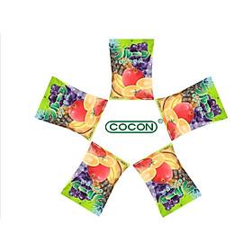 COMBO 5 GÓI KẸO TRÁI CÂY NHẬT COCON 140G