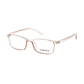 Kính Mắt Chống Tia UV Từ Điện Thoại, Máy Tính, Chống Mỏi Mắt Gọng kính chính hãng SARIFA 2460 C03