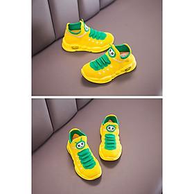1 đôi Giày trẻ em bé trai, bé gái 1 – 7 tuổi – chú sâu vui vẻ