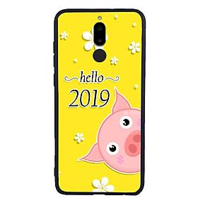 Ốp Lưng Viền TPU cho điện thoại Huawei Nova 2i - Pig 2019