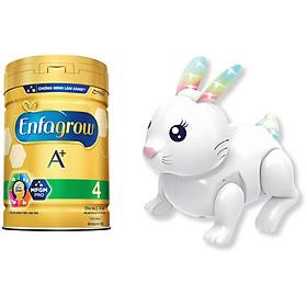 Sữa Bột Enfagrow A+ 4 (830g) - Tặng Đồ Chơi Thỏ Dùng Pin