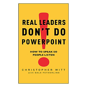 Real Leaders Don't Do Powerpoint (UK)