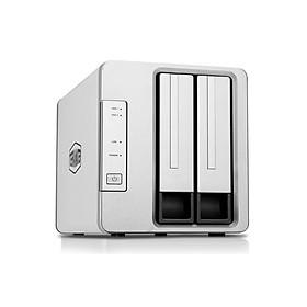 Bộ lưu trữ mạng NAS TerraMaster F2-210 Quad-core CPU, RAM 1GB, 2 khay ổ cứng RAID 0,1,JBOD,Single - Hàng chính hãng - Hàng Chính Hãng