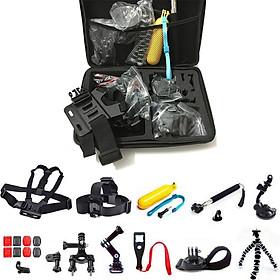 Bộ phụ kiện cho Gopro 4 5 6 7 8 9 Yi Sjcam DJI camera hành động các loại